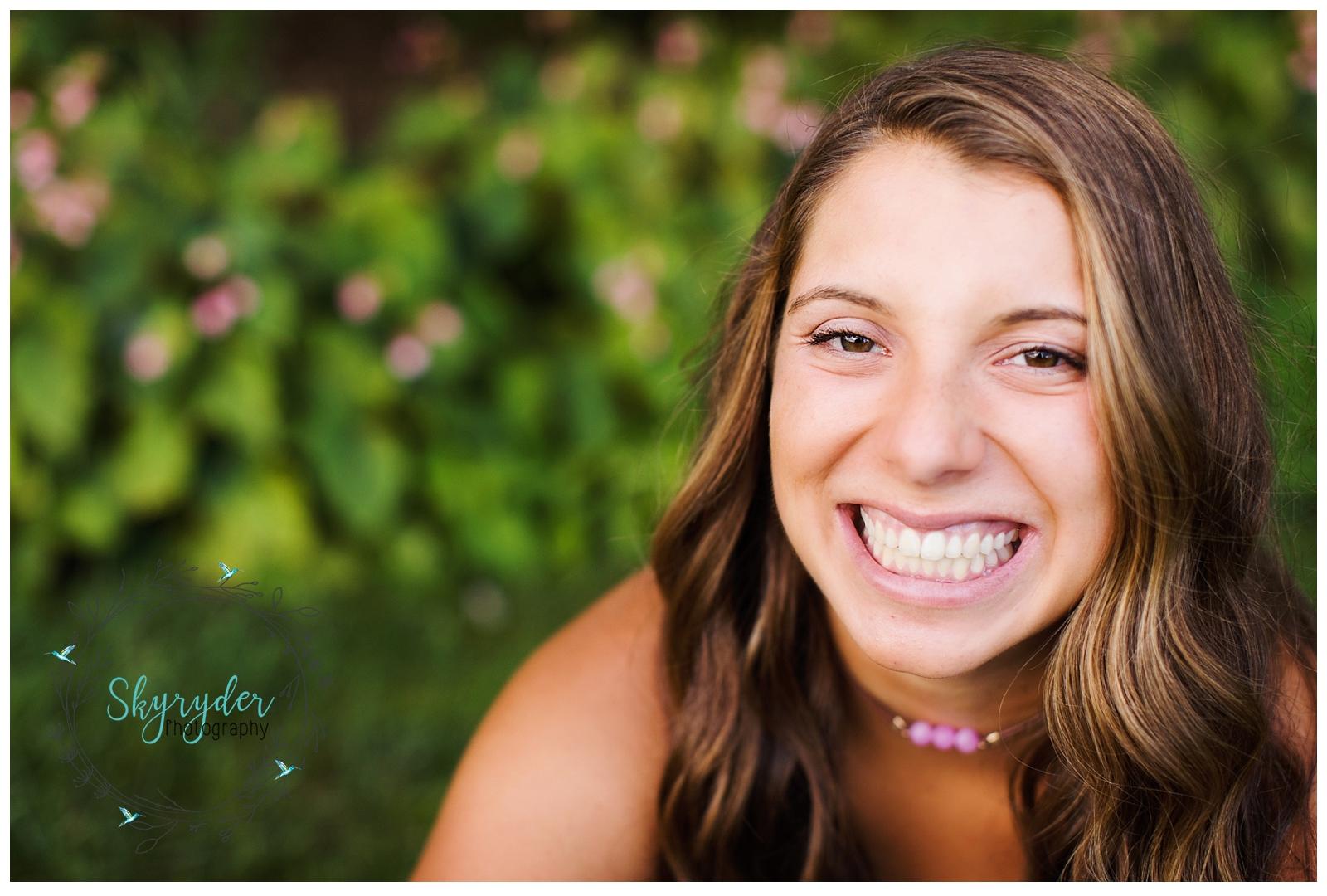skyryder Blacksburg high school senior session photographer virginia tech vt hokie roanoke