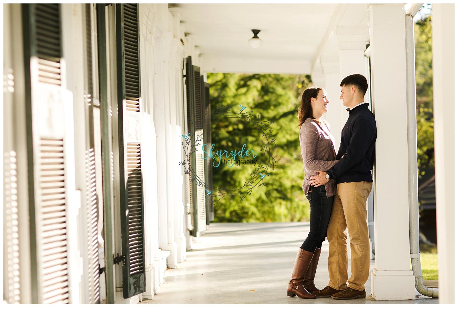 skyryder Blacksburg engagement wedding photographer session roanoke virginia tech vt