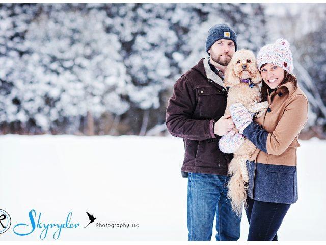 snow winter skyryder photography blacksburg roanoke engagement photographer wedding