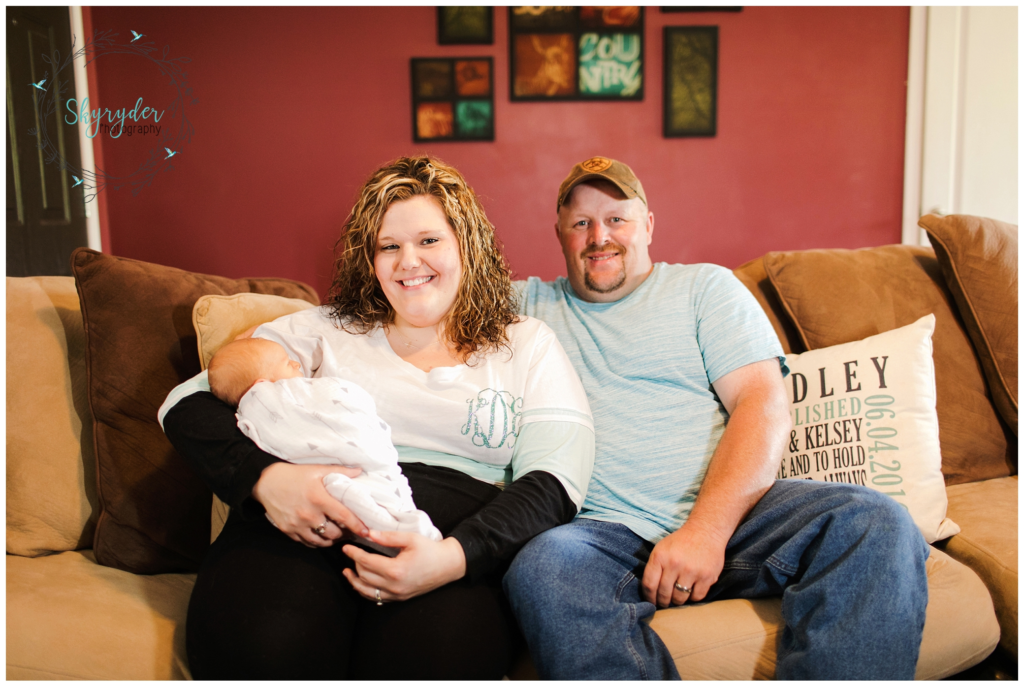 Baby Marshall | Floyd Newborn Photographer | lifestyle newborn session maternity baby blacksburg photographer photography roanoke skyryder virginia