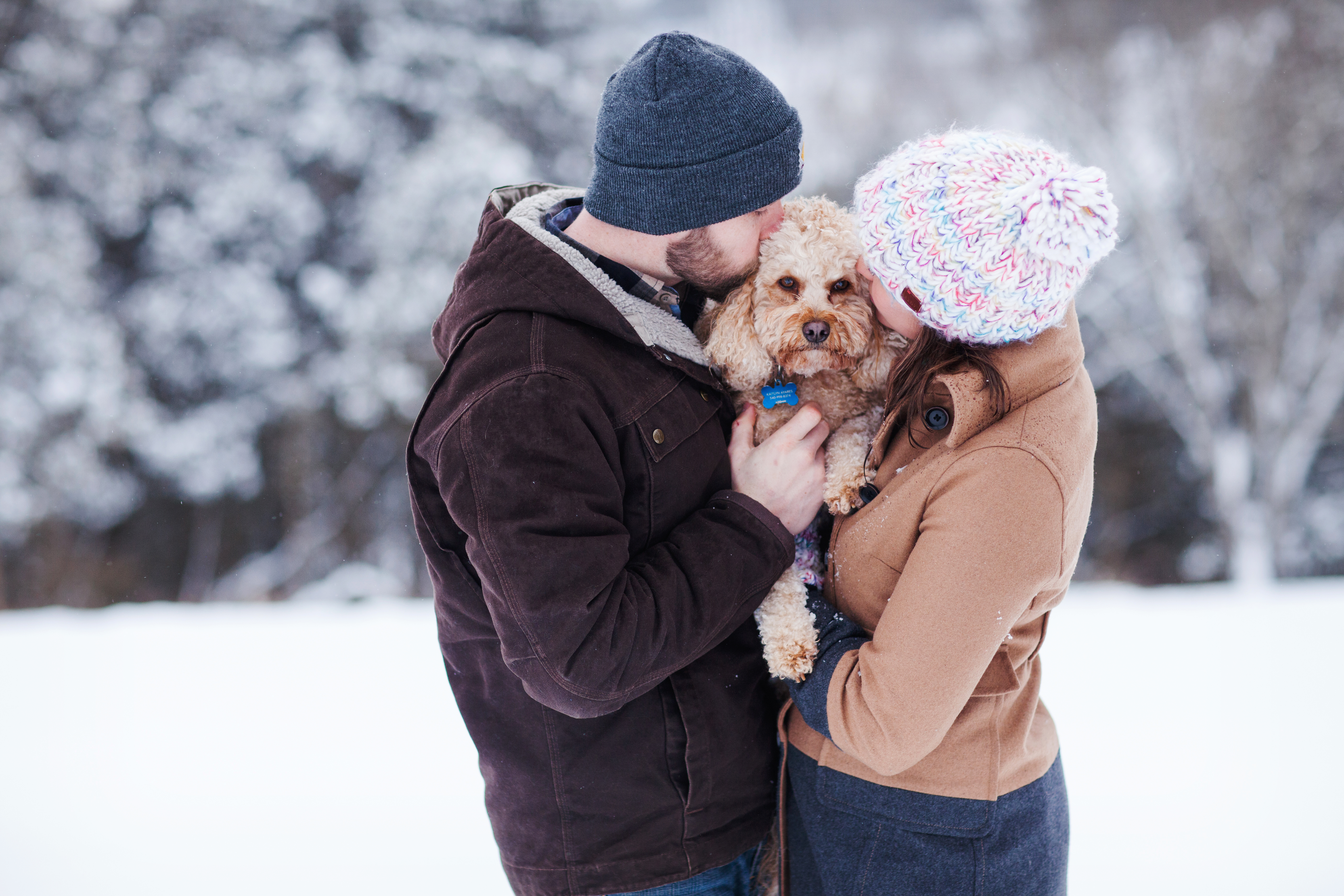 Kaitlyn & Mike | A Snow Day Engagement Session