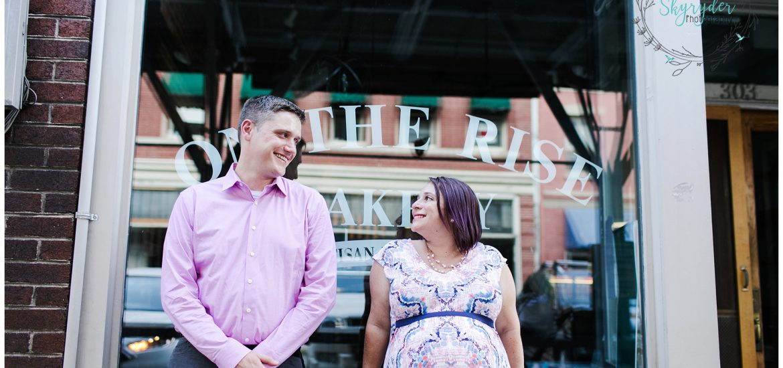 Emily & Matt are Expecting!   Roanoke Maternity Photographer