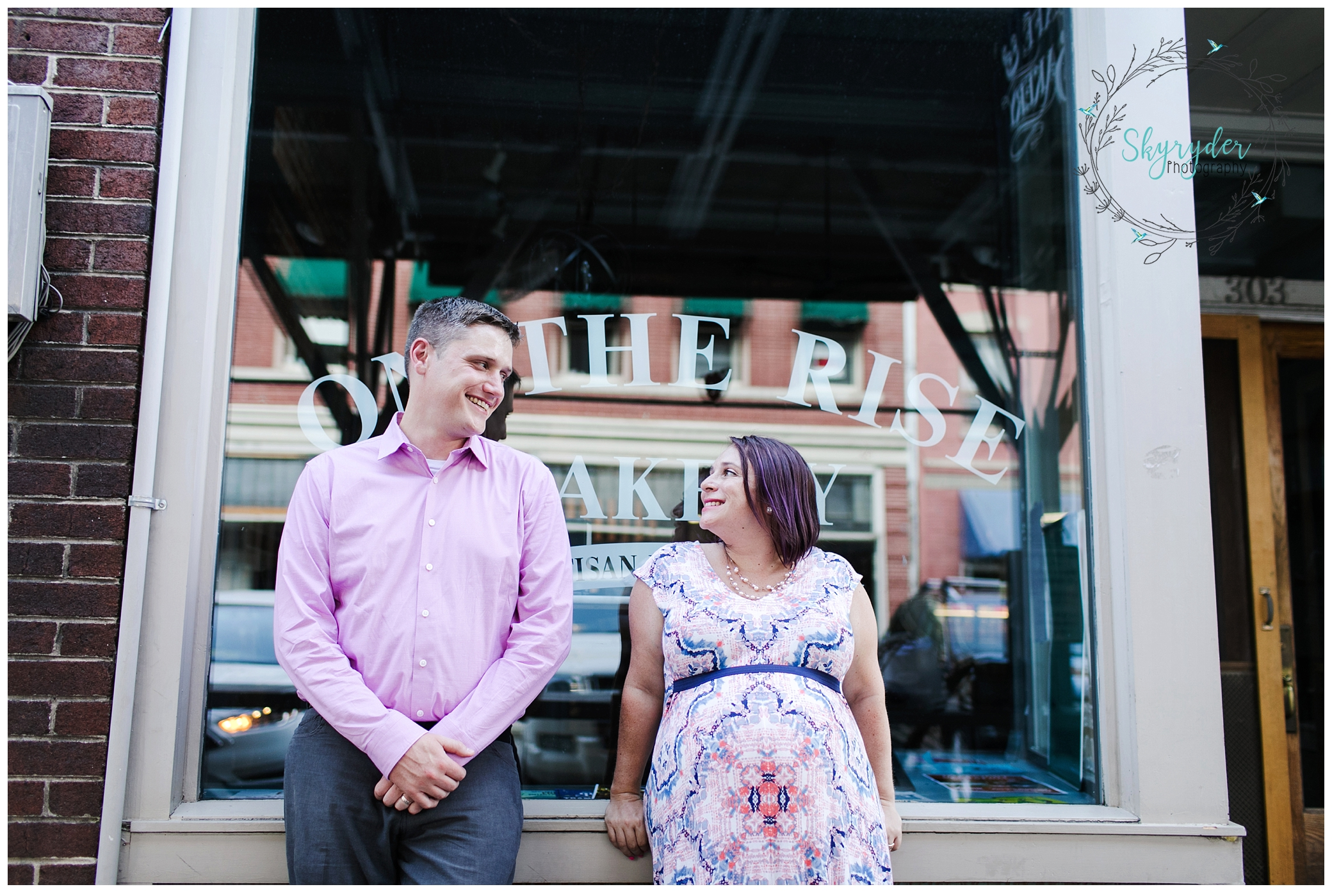 Emily & Matt are Expecting! | Roanoke Maternity Photographer
