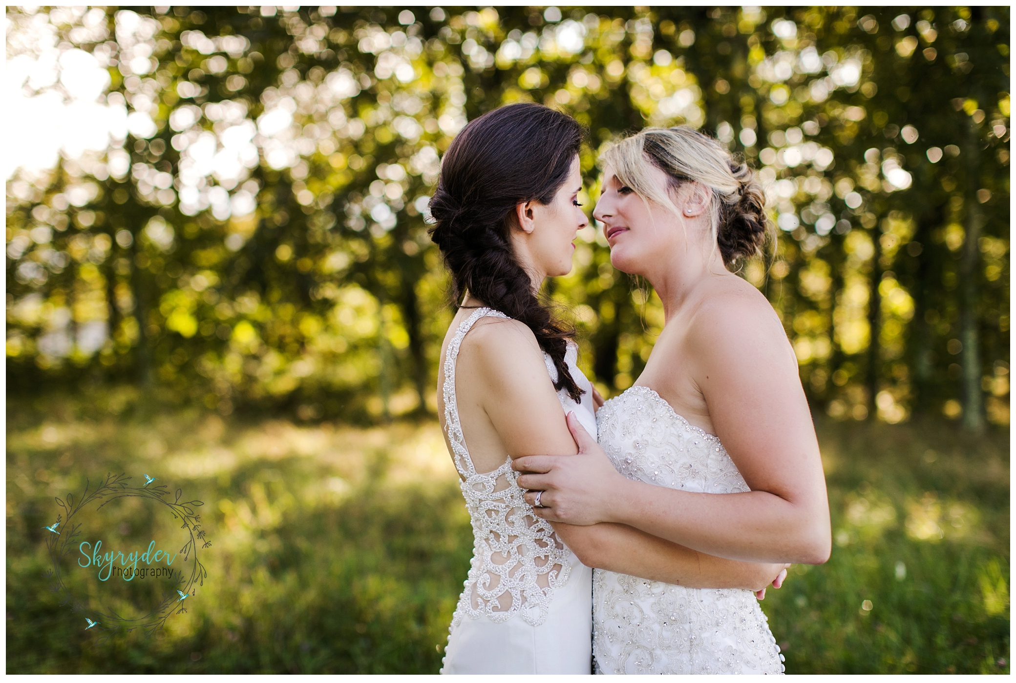 Danielle + Lindsay | Mountain Lake Wedding Photographer