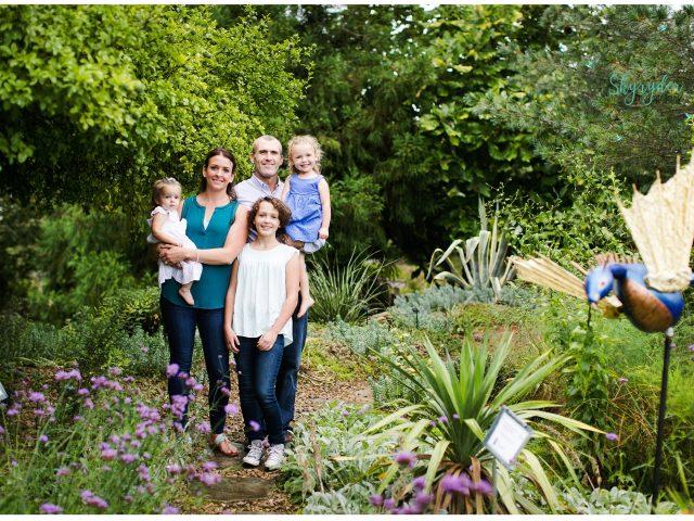 White Family   Blacksburg Family Photographer   Hahn Horticulture Garden   Virginia Tech